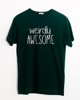 Buy Awesomely Weird Half Sleeve T-Shirt Online India @ Bewakoof.com