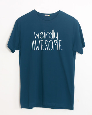 Buy Awesomely Weird Half Sleeve T-Shirt Online India @ Bewakoof.com