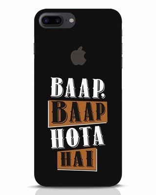 Shop Baap Baap Hota Hai iPhone 7 Plus Logo Cut Mobile Cover-Front