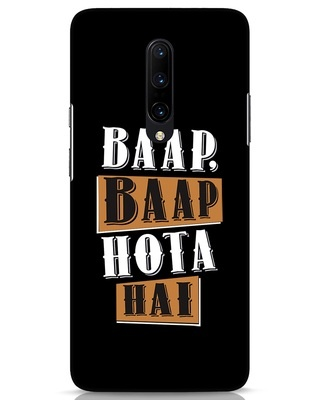 Shop Baap Baap Hota Hai OnePlus 7 Pro Mobile Cover-Front