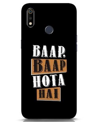 Shop Baap Baap Hota Hai Realme 3i Mobile Cover-Front