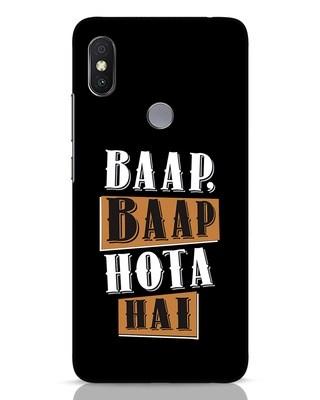 Shop Baap Baap Hota Hai Xiaomi Redmi Y2 Mobile Cover-Front
