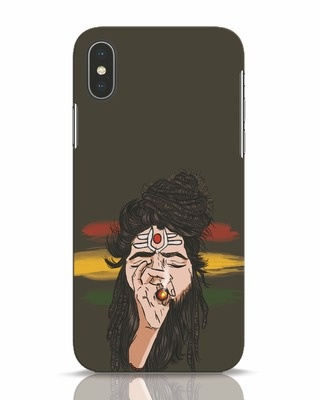Shop Baba iPhone X Mobile Cover-Front
