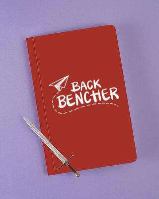 Shop Backbencher Plane Notebook-Front