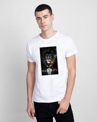 Shop Mojotrack Bad Boy Half T-Shirt-Front