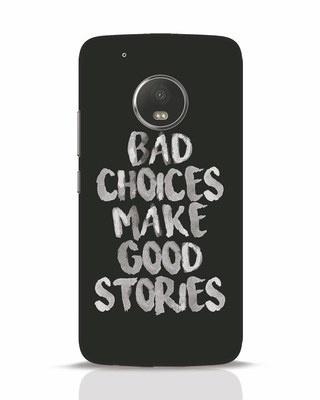 Shop Bad Choices Moto G5 Plus Mobile Cover-Front