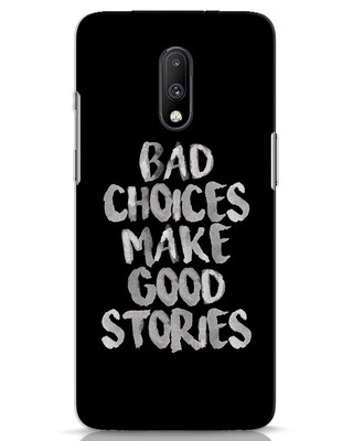 Shop Bad Choices OnePlus 7 Mobile Cover-Front