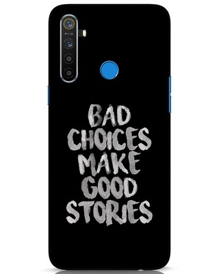 Shop Bad Choices Realme 5 Mobile Cover-Front