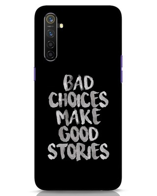 Shop Bad Choices Realme 6 Mobile Cover-Front