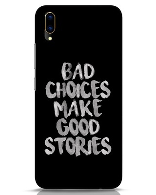 Shop Bad Choices Vivo V11 Pro Mobile Cover-Front
