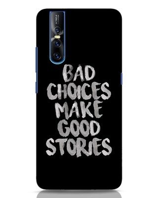 Shop Bad Choices Vivo V15 Pro Mobile Cover-Front