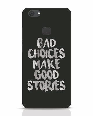 Shop Bad Choices Vivo V7 Plus Mobile Cover-Front