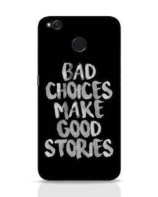 Shop Bad Choices Xiaomi Redmi 4 Mobile Cover-Front