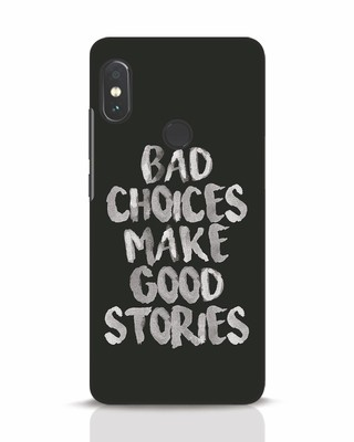 Shop Bad Choices Xiaomi Redmi Note 5 Pro Mobile Cover-Front