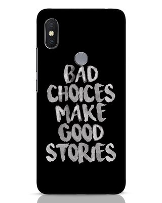 Shop Bad Choices Xiaomi Redmi Y2 Mobile Cover-Front