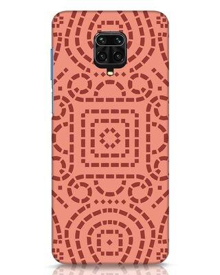 Shop Bandhani Pattern Xiaomi Redmi Note 9 Pro Mobile Cover-Front