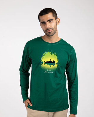 Shop Bare Necessities Full Sleeve T-Shirt (DL)-Front