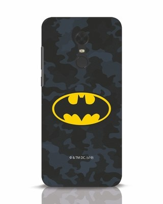 Shop Batman Camo Logo Xiaomi Redmi Note 5 Mobile Cover (BML)-Front