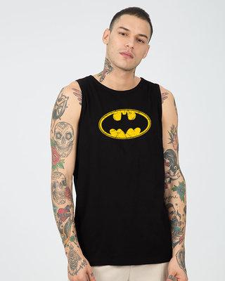 Shop Batman Classic Logo Vest (BML)-Front