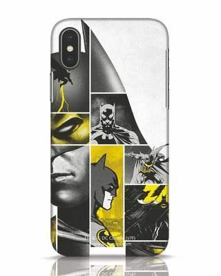 Shop Batman Collage iPhone X Mobile Cover-Front