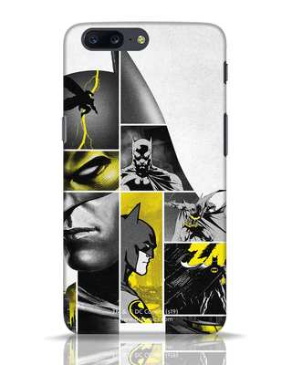 Shop Batman Collage OnePlus 5 Mobile Cover-Front