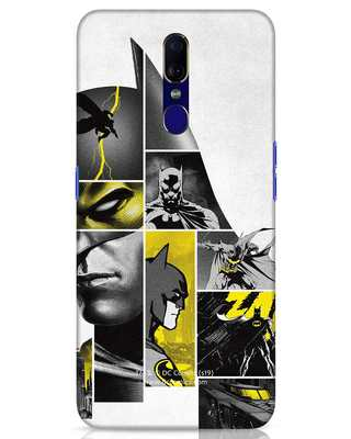 Shop Batman Collage Oppo F11 Mobile Cover-Front