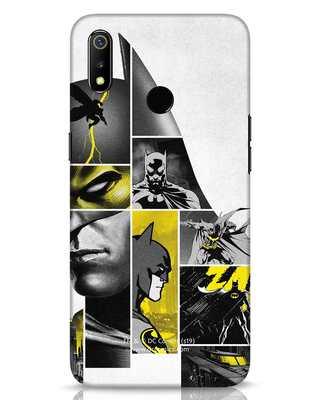 Shop Batman Collage Realme 3 Mobile Cover-Front