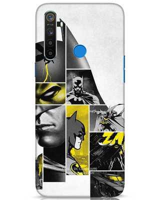 Shop Batman Collage Realme 5 Mobile Cover-Front