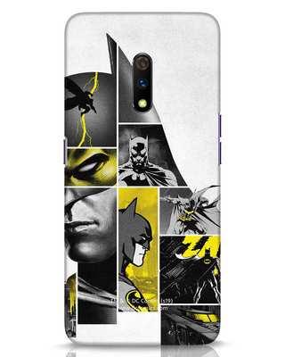 Shop Batman Collage Realme X Mobile Cover-Front