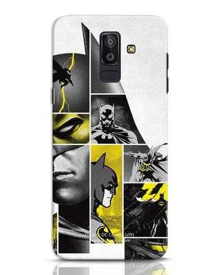 Shop Batman Collage Samsung Galaxy J8 Mobile Cover-Front