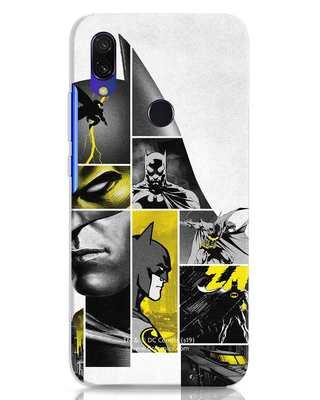 Shop Batman Collage Xiaomi Redmi 7 Mobile Cover-Front