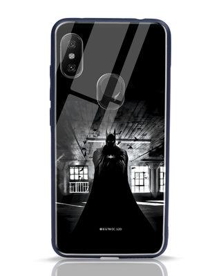 Shop Batman In The Shadows Xiaomi Redmi Note 6 Pro Mobile Cover (BML)-Front