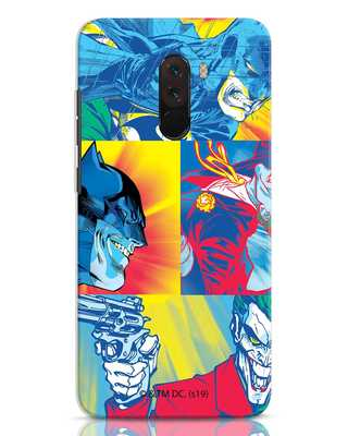 Shop Batman Joker Panel Xiaomi POCO F1 Mobile Cover (BML)-Front