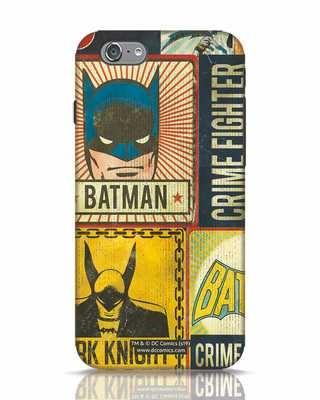Shop Batman Vintage iPhone 6 Mobile Cover (BML)-Front