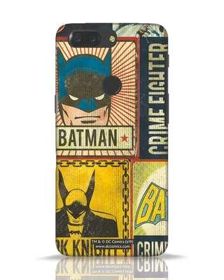 Shop Batman Vintage OnePlus 5T Mobile Cover (BML)-Front