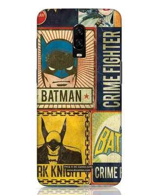Shop Batman Vintage OnePlus 6T Mobile Cover (BML)-Front