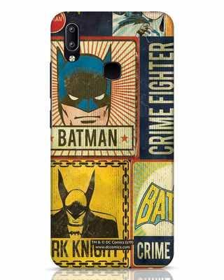 Shop Batman Vintage Vivo Y91 Mobile Cover (BML)-Front