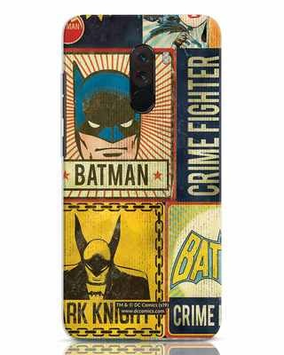 Shop Batman Vintage Xiaomi POCO F1 Mobile Cover (BML)-Front