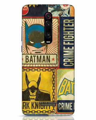 Shop Batman Vintage Xiaomi Redmi K20 Mobile Cover (BML)-Front