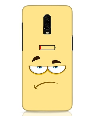 Shop Battery Angry OnePlus 6T Mobile Cover-Front