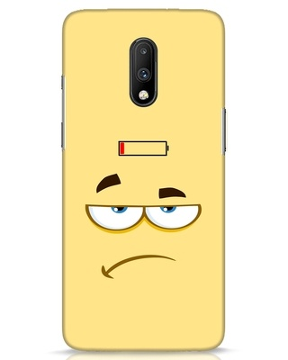Shop Battery Angry OnePlus 7 Mobile Cover-Front