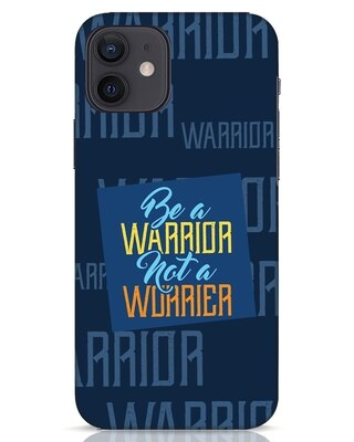 Shop Be A Warrior iPhone 12 Mobile Cover-Front