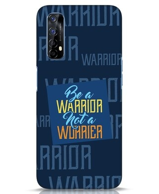 Shop Be A Warrior Realme 7 Mobile Cover-Front