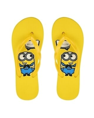 Shop Be Blah Minion Printed Mens Flip-flop-Front