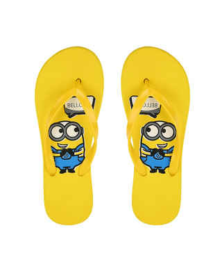 Shop Be Blah Minion Printed Womens Flip-flop-Front