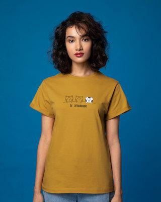 Shop Be Extraordinary Boyfriend T-Shirt-Front