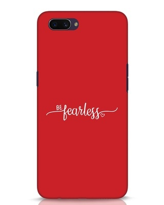 Shop Be Fearless Oppo A3S Mobile Cover-Front