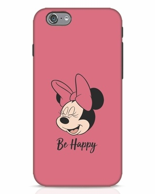 Shop Be Happy iPhone 6 Mobile Cover-Front