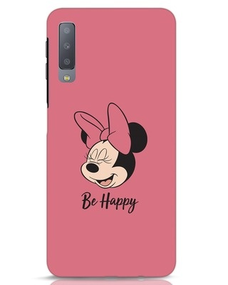 Shop Be Happy Samsung Galaxy A7 Mobile Cover-Front
