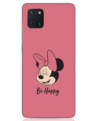 Shop Be Happy Samsung Galaxy Note 10 Lite Mobile Cover-Front
